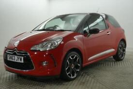 2013 Citroen DS3 E-HDI DSTYLE PLUS Diesel red Manual