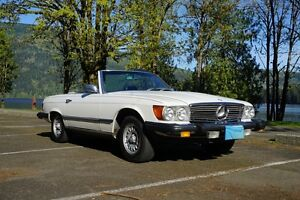 1981 Mercedes 380SL in excellent condition!