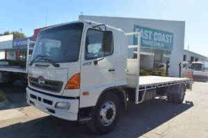 HINO FG1J ** TRAYTOP ** #4945 Archerfield Brisbane South West Preview
