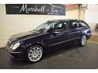 2006 06 MERCEDES-BENZ E CLASS 5.0 E500 SPORT 5D AUTO 306 BHP ESTATE
