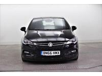 2016 Vauxhall Astra SRI NAV CDTI ECOFLEX S/S Diesel black Manual