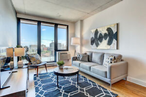 STUNNING FULLY FURNISHED CONDO IN GRIFFINTOWN – 3 ½