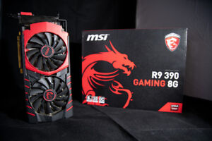 Dual R9 390 MSI 8GB GDDR5 Video Cards for Sale!