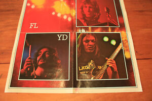 Pink Floyd Poster - Dark Side Of The Moon - Group Photo London Ontario image 3