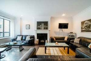Gorgeous 3 bedroom apartment Downtown Montreal