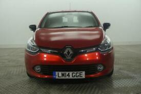 2014 Renault Clio DYNAMIQUE MEDIANAV ENERGY DCI S/S Diesel red Manual