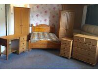 Fully furnished pine bedroom set (Including Delivery)