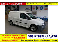 2009 - 59 - VOLKSWAGEN CADDY MAXI C20 1.9TDI 104PS VAN (GUIDE PRICE)