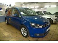 2012 Volkswagen Touran 2.0 TDI SE DSG 5 Doors / FINANCE / FSH / HPI CLEAR