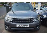 2015 15 RANGE ROVER SPORT 3.0SDV6 HSE GOOD AND BAD CREDIT CAR FINANCE AVAILABLE
