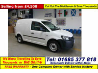 2013 - 13 - VOLKSWAGEN CADDY C20 1.6TDI 102PS VAN (GUIDE PRICE)
