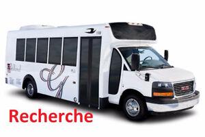 Aubobus, minibus, mini bus, Recherche