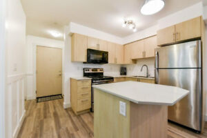 Furn. 1 Bd garden apt in new bldg 2 blks fr downtown Abbotsford