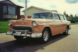 *MINT 1955 Chevy Nomad Belair