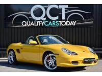 2003 Porsche Boxster S 3.2 Manual 986 Yellow + Heated Sports Seats + BOSE