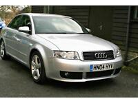 2004 AUDI A4 1.9 TDI 6 SPEED SPORT 2 OWNERS FROM NEW EXCELLENT SERVICE HISTORY