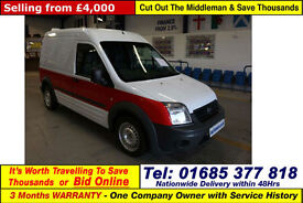 2012 - 62 - FORD TRANSIT CONNECT T230 1.8TDCI 90PS HIGH TOP LWB VAN