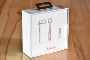urbeats Rose Gold Special Edition Beats Earbuds, BNIB