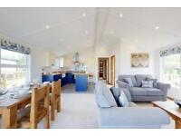 Lodge For Sale in Lake District On South Lakeland Leisure Village Log Cabin