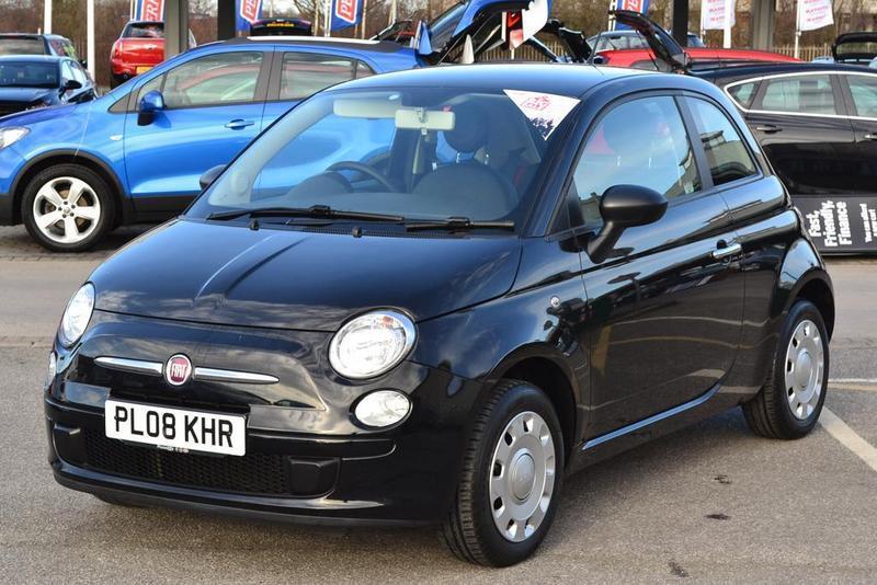 Fiat 500 1 2 pop 3 door black 2008 in doncaster south for Door 2 door doncaster