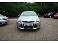 2014 Ford Focus 1.6 TDCi 115 Zetec Navigator 5dr - CAR IS £6799 - £43 PER WEEK H