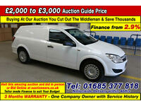 2010 - VAUXHALL ASTRA CLUB 1.7CDTI VAN (GUIDE PRICE)