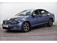 2015 Volkswagen Passat SE BUSINESS TDI BLUEMOTION TECHNOLOGY Diesel blue Manual