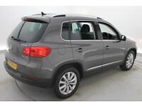 2014 VOLKSWAGEN TIGUAN 2.0 TDi BlueMotion Tech Match 5dr [2WD]