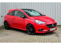 2016 Vauxhall Corsa 1.4 Limited Edition 3dr - Red with Black Roof and Wheels