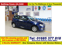 2012 - 12 - VOLKSWAGEN POLO BLUEMOTION 1.2TDI 3 DOOR HATCHBACK (GUIDE PRICE)