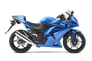 Looking for a motorcycle (Ninja 250, 400, 650 or similar)