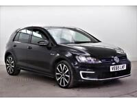 2016 Volkswagen Golf GTE PETROL/ELECTRIC black Semi Auto