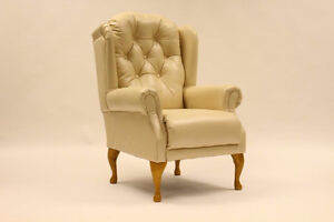 English Hand Crafted Fire-Side Chairs