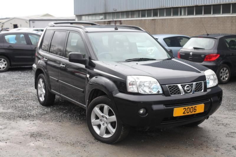2006 nissan x trail 136 columbia black diesel 12 months mot in bangor county. Black Bedroom Furniture Sets. Home Design Ideas