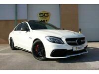 Mercedes-Benz C Class 4.0 C63 V8 BiTurbo AMG S (Premium) SpdS MCT (s/s) 4dr