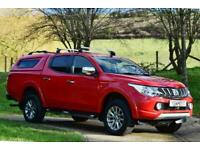 2016 Mitsubishi L200 Warrior Dcb Di-D (15400+Vat) Pickup Diesel Manual