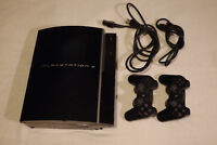 Playstation 3 Console with 2 Controllers