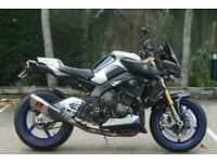 YAMAHA MT-10 SP METALLIC SILVER BLUE CARBON 2020 (20) MT10SP FANTASTIC SPEC!!