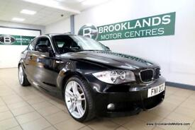 BMW 1 SERIES 120D M Sport Auto [2X BMW SERVICES and 18in ALLOY WHEELS]