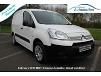 Citroen Berlingo 1.6HDi ( 75 ) L1 625 LX SWB Panel Van 2010