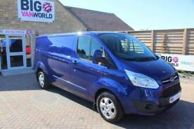2015 FORD TRANSIT CUSTOM 290 TDCI 125 L2 H1 LIMITED LWB LOW ROOF VAN LWB DIESEL
