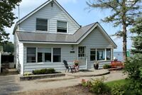 ICE FISHING Waterfront cottage Rental -Cook's Bay, INNISFIL, Ont