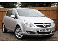 Vauxhall Corsa 1.4i 16v A/C Design Automatic Petrol 5 Door Hatchback in Silver