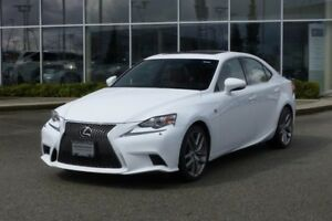 2015 Lexus IS350 AWD 6A