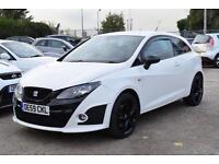 SEAT IBIZA 1.4 SPORT COUPE DSG BOCANEGRA, BLACK PACK, 63,000 MILES ONLY