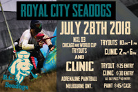Speedball Clinic and NXL tryouts paintball