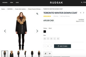 *LIKE NEW* Rudsak - Toronto Winter Down Coat
