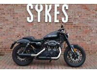 2016 Harley-Davidson XL1200CX Sportster Roadster in Black Denim
