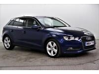 2014 Audi A3 TDI SPORT Diesel blue Semi Auto