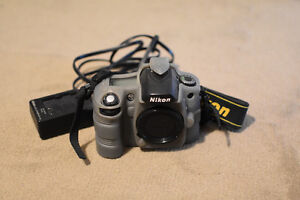 Nikon D80 Camera with Silicone Case and Charger (No Battery)